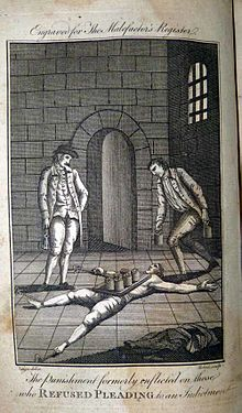Engraving_for_the_Malefactor's_Register_the_punishment_formerly_inflicted_on_those_who_refused_pleading_to_an_indictment